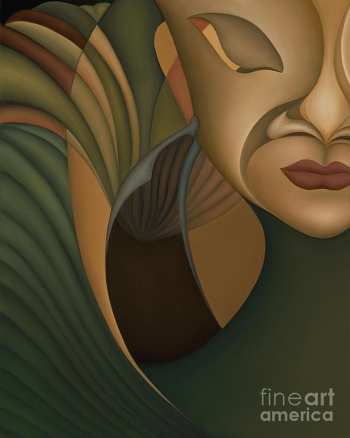 Sensual Painting - Carnival by Joanna Pregon