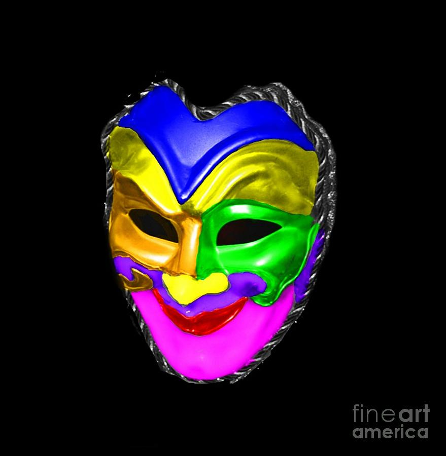 Carnival Mask is a photograph by Blair Stuart which was uploaded on ...