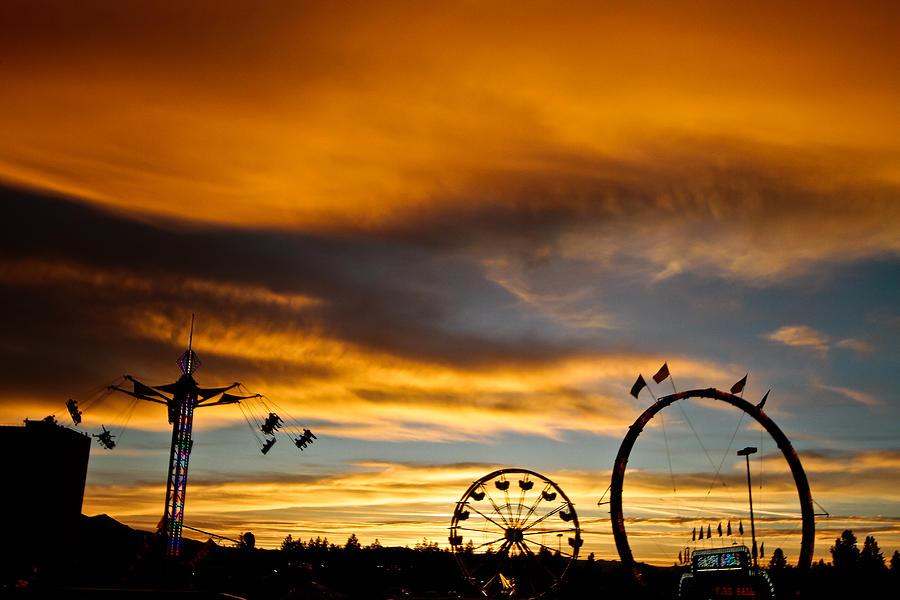 Carnival Sky Photograph - Carnival Sky by Mitch Shindelbower
