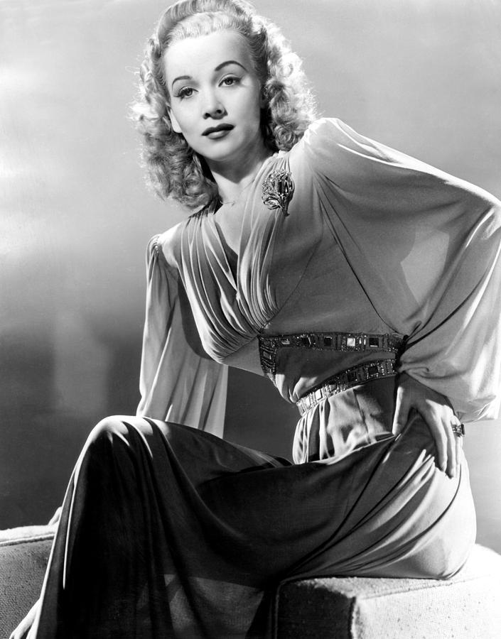 Carole Landis, Publicity Shot, Ca. 1944 Photograph