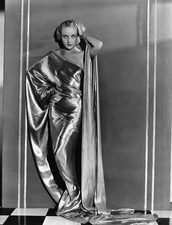 1930s Fashion Photograph - Carole Lombard, In A Paramount by Everett
