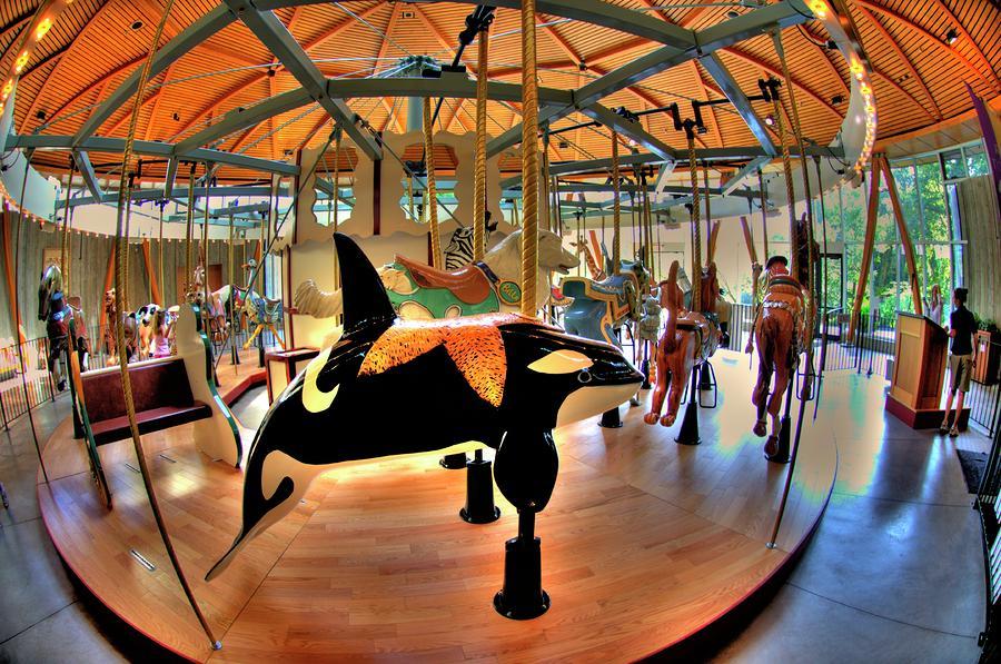 Carousel 2 At The Butchart Gardens Photograph