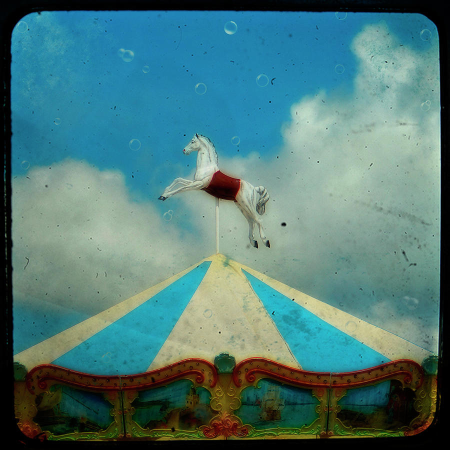 Carousel Day Photograph  - Carousel Day Fine Art Print
