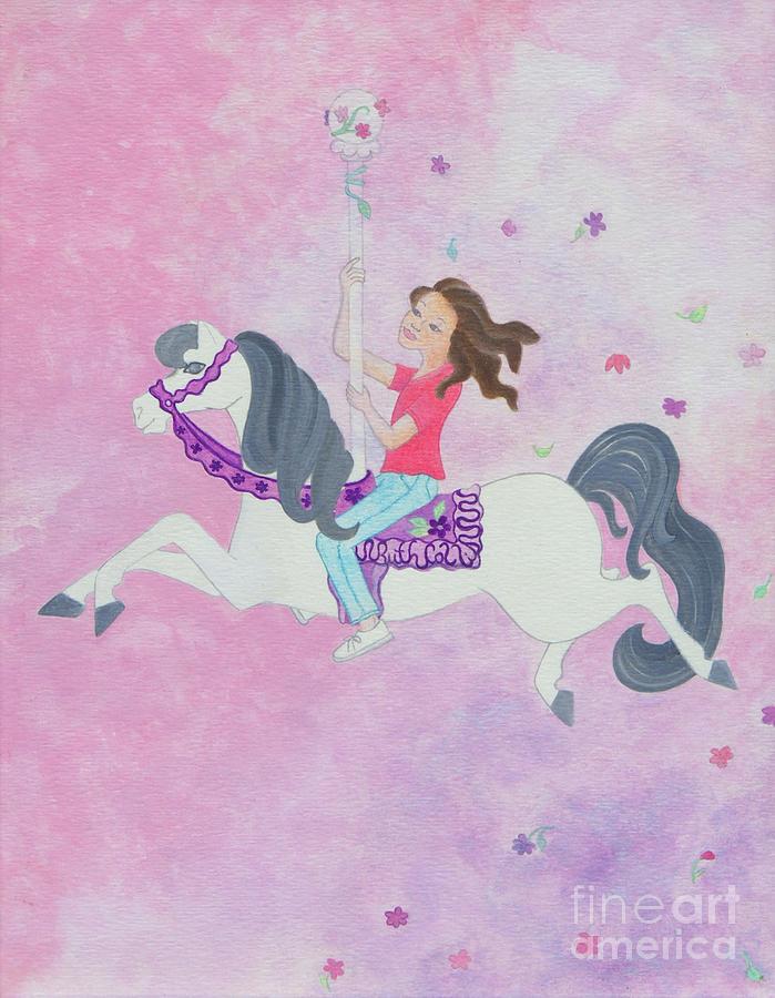Carousel Dreams Painting