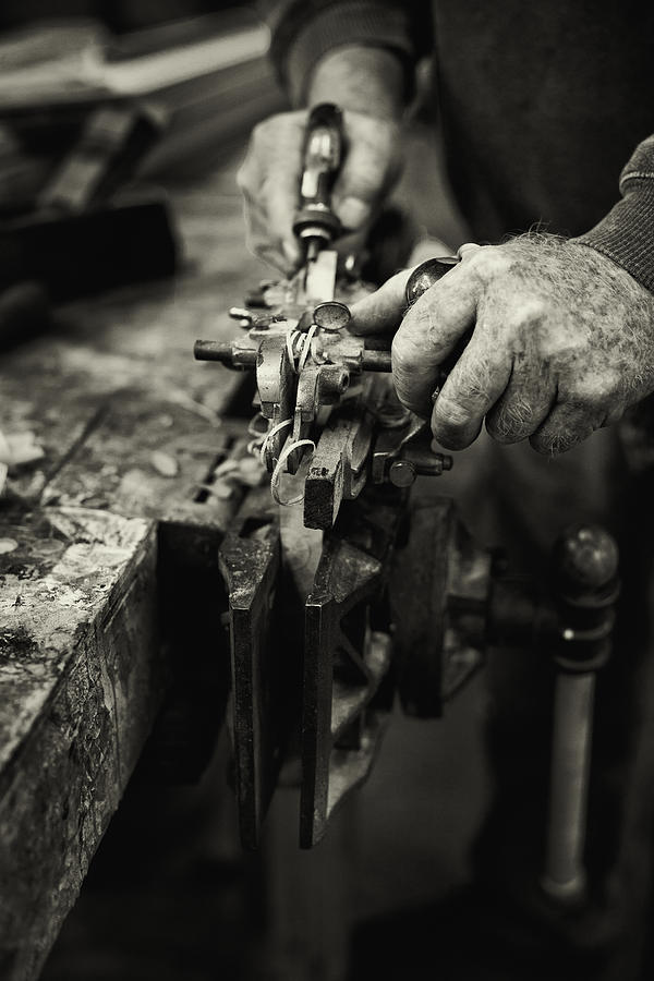 Carpenter L Photograph  - Carpenter L Fine Art Print