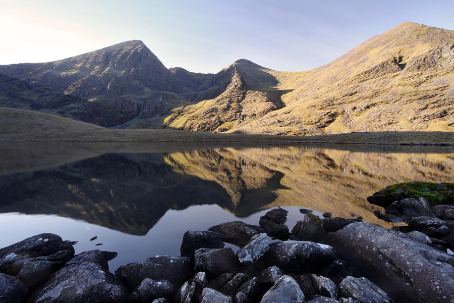 Carrauntoohill Irelands Tallest Mountain Photograph