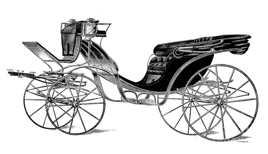 Carriage: Victoria Photograph