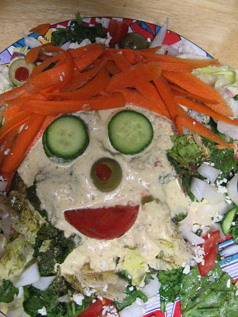 A Salad A Day Photograph - Carrot Top by Kym Backland