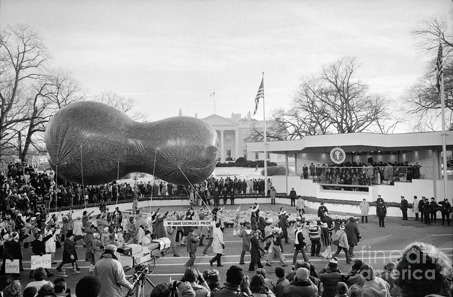 Carter Inauguration, 1977 Photograph  - Carter Inauguration, 1977 Fine Art Print