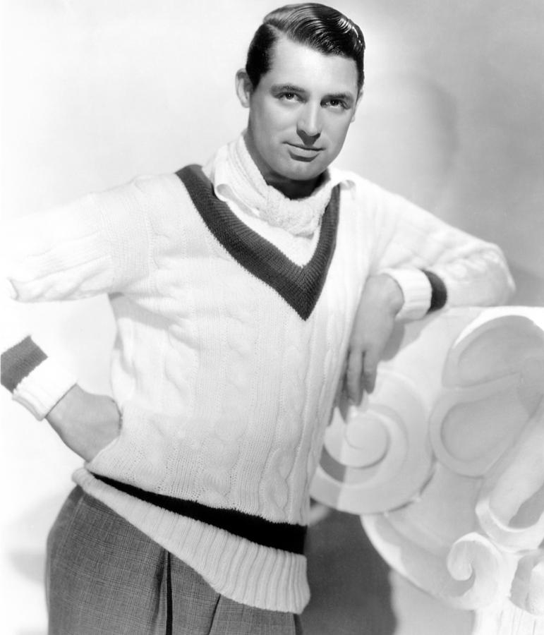Cary Grant, 1934 Photograph  - Cary Grant, 1934 Fine Art Print