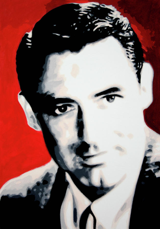 Cary Grant Painting