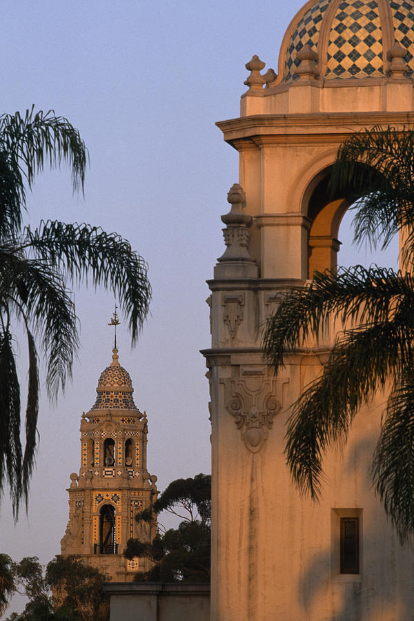 Outdoors Photograph - Casa Del Prado Theatre In Balboa Park by Phil Schermeister