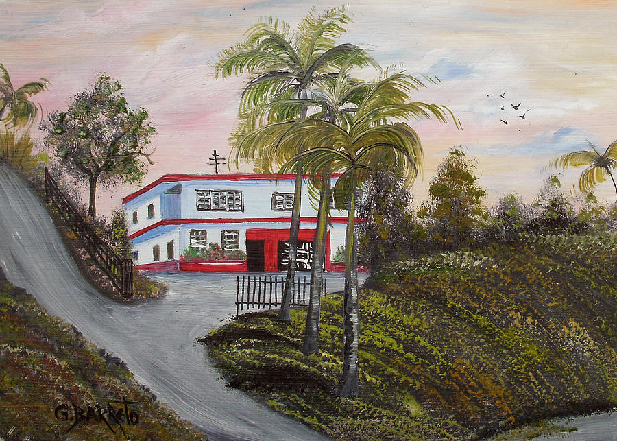 Casa En Montanas De Cerro Gordo Painting