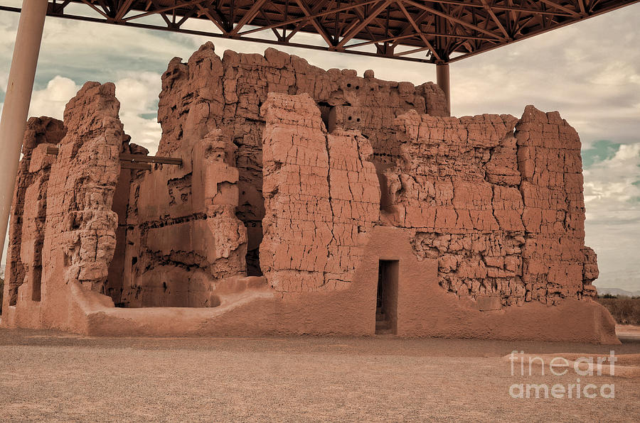 Casa Grande Ruins IIi Photograph  - Casa Grande Ruins IIi Fine Art Print