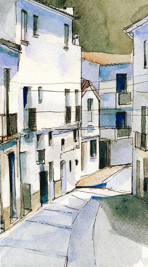 Casares Street Painting