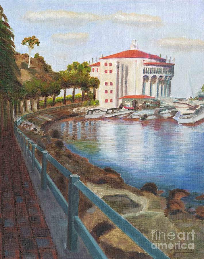 Casino In Avalon Painting