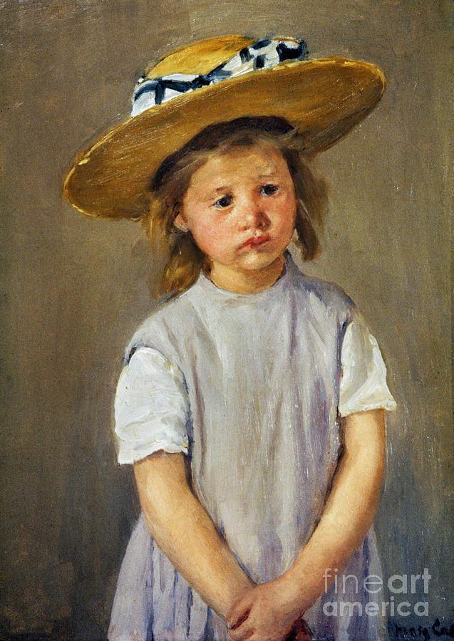 Cassatt: Girl, C1886 Photograph