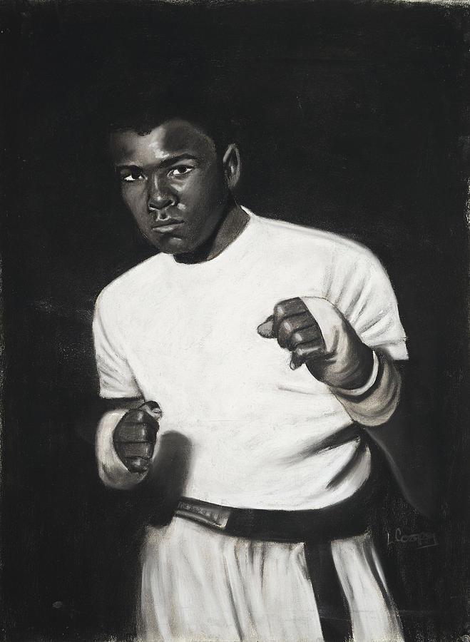 Cassius Clay Pastel
