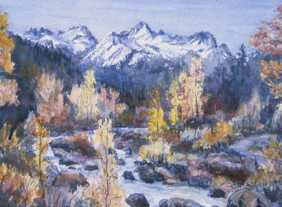 Castle Creek Autumn Painting