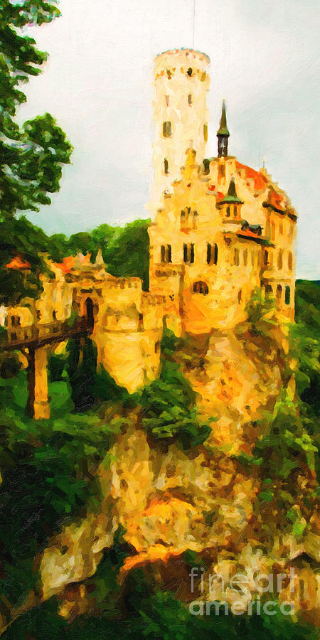 Castle In The Sky . Long Cut Photograph  - Castle In The Sky . Long Cut Fine Art Print