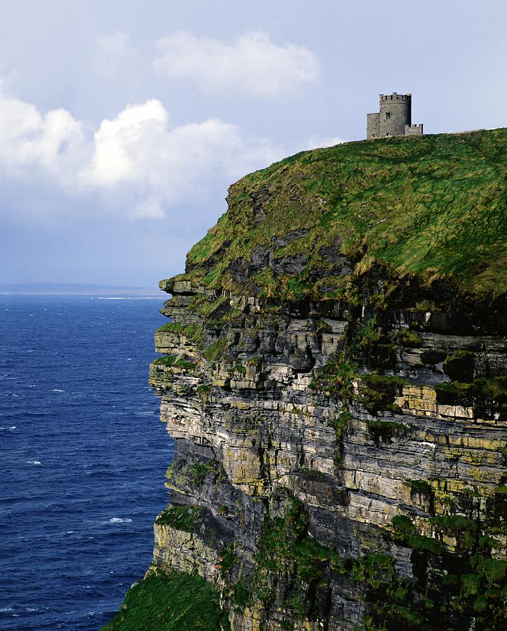 Castle On A Cliff, Obriens Tower Photograph  - Castle On A Cliff, Obriens Tower Fine Art Print