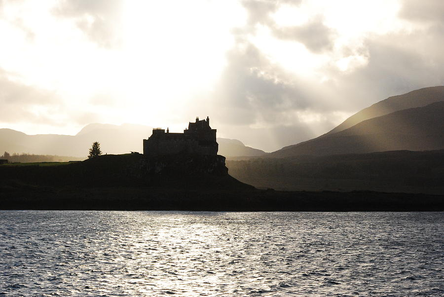 Castle On Scotlands Inner Hebridean Islands Photograph