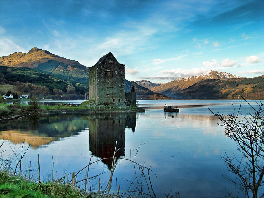 Castle On The Loch Photograph  - Castle On The Loch Fine Art Print