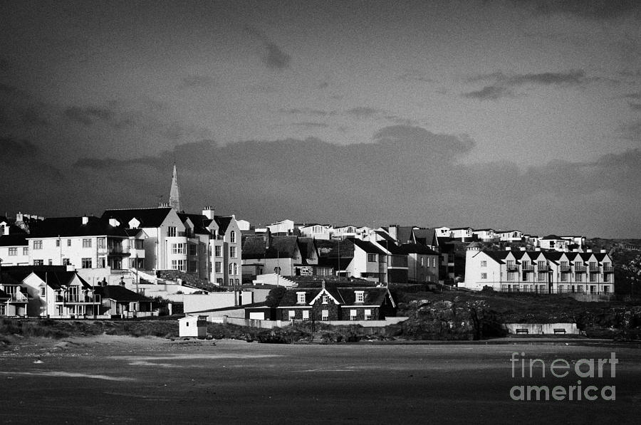 Castlerock Town And Strand County Derry Northern Irelandderry town