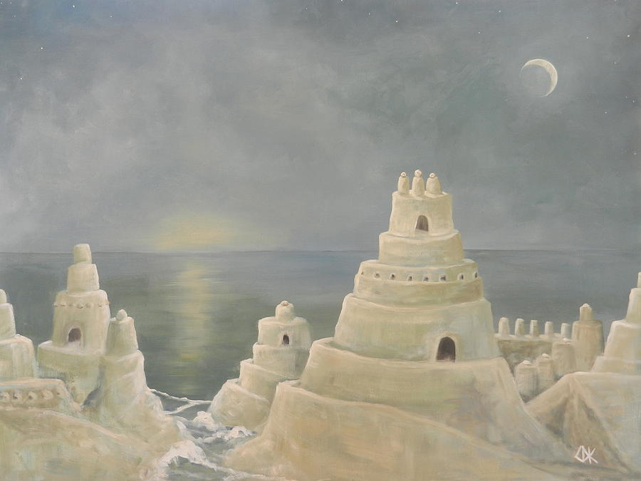 Castles On The Shore Painting