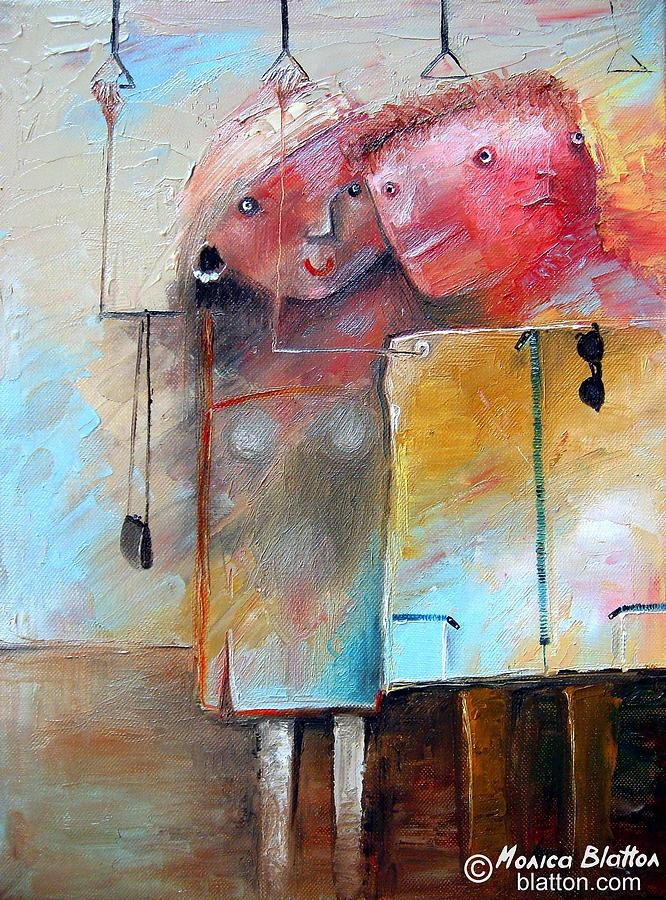 Casual Acquaintance Painting  - Casual Acquaintance Fine Art Print