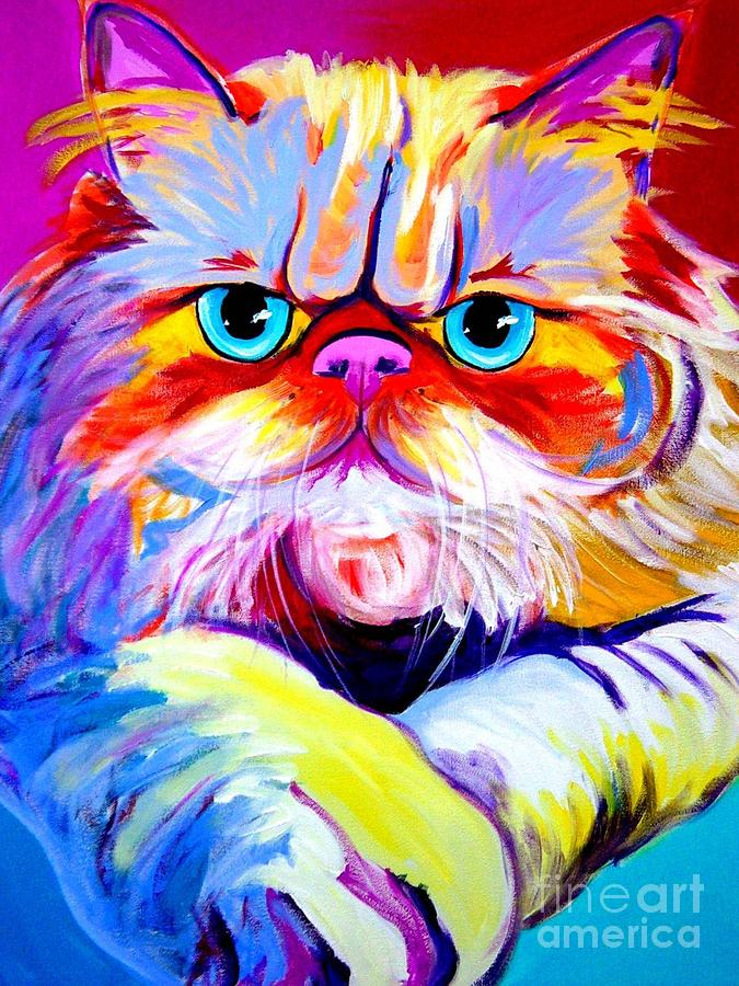 Cat - Tigger Painting