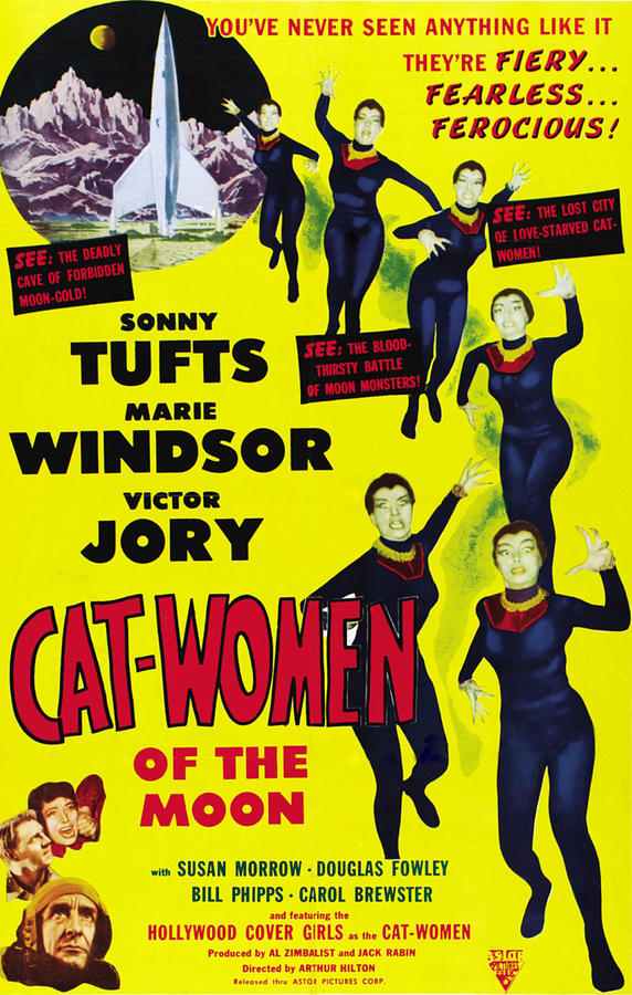 Cat Women Of The Moon, Sonny Tufts Photograph  - Cat Women Of The Moon, Sonny Tufts Fine Art Print