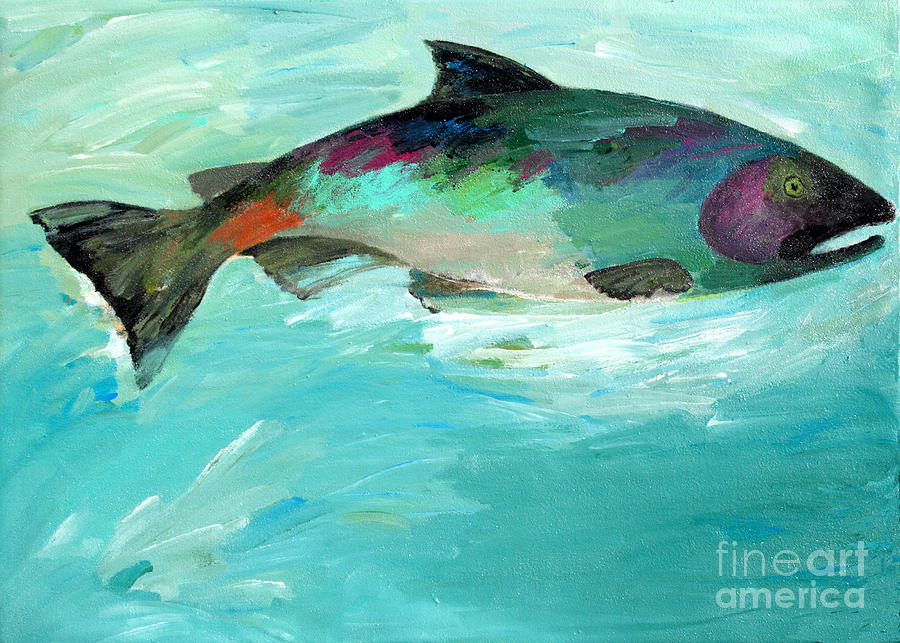 Catch 2 Painting  - Catch 2 Fine Art Print