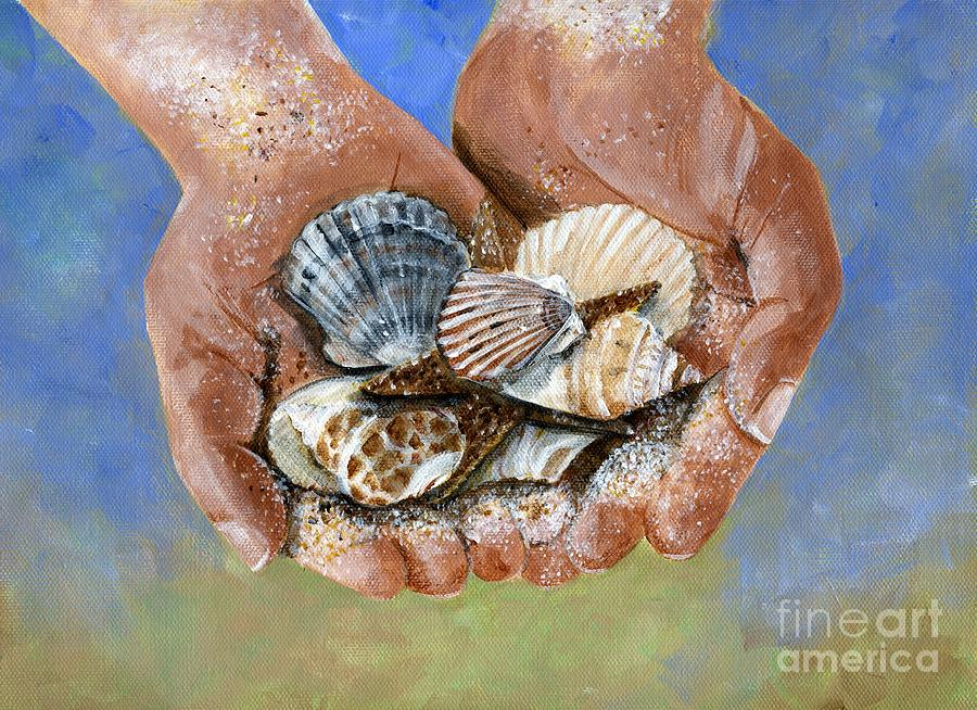 Catch Of The Day Painting  - Catch Of The Day Fine Art Print