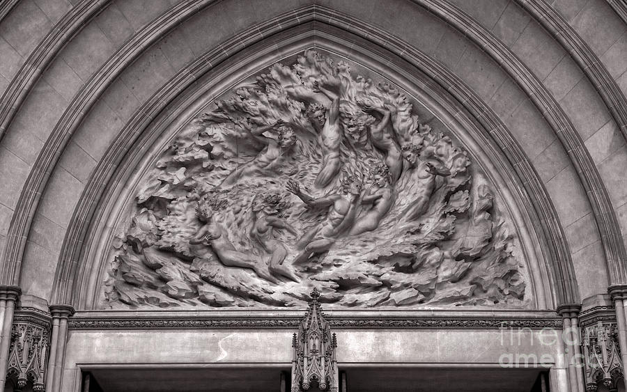 Sculpture Photograph - Cathedral Ex Nihilo by Susan Isakson