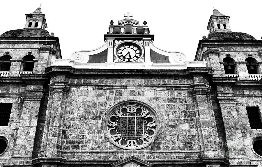 Cathedral Of Cartagena Photograph  - Cathedral Of Cartagena Fine Art Print
