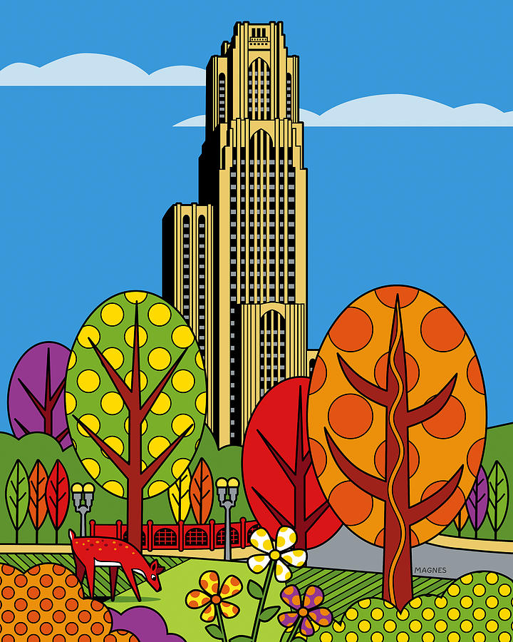 Cathedral Of Learning Digital Art