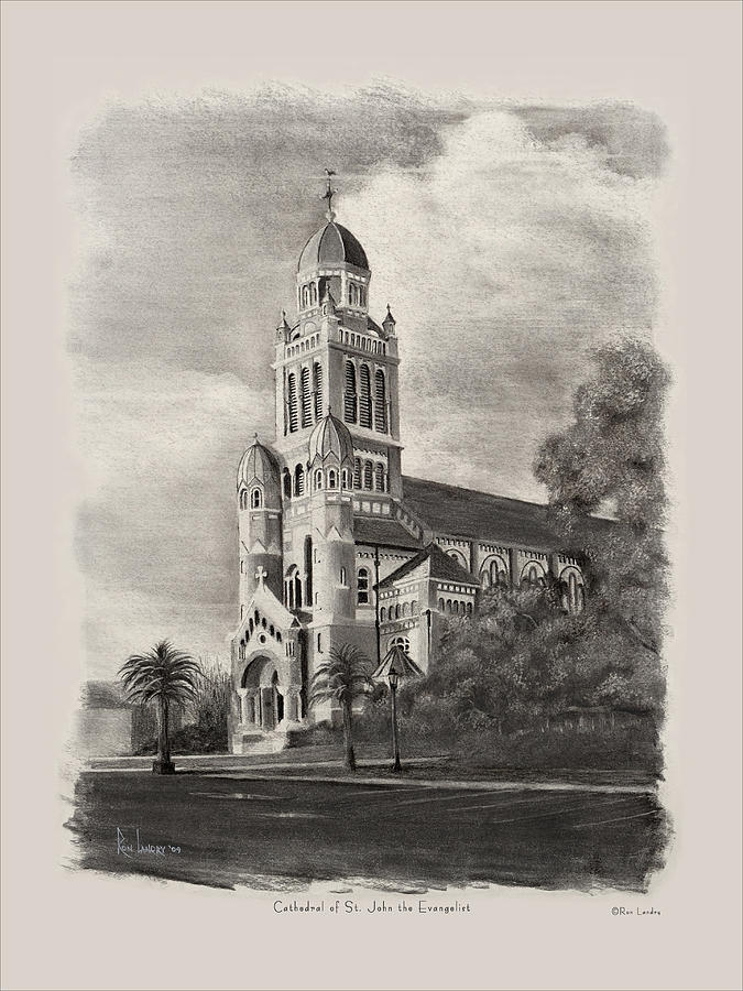Cathedral Of St John The Evangelist Drawing