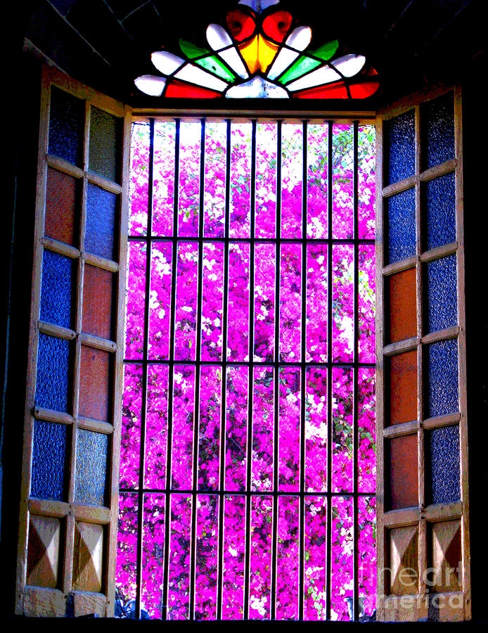 Cathedral Window By Michael Fitzpatrick Photograph  - Cathedral Window By Michael Fitzpatrick Fine Art Print