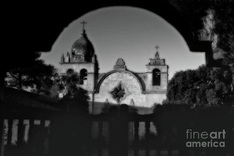 Catholic Mission At Carmel California Photograph  - Catholic Mission At Carmel California Fine Art Print