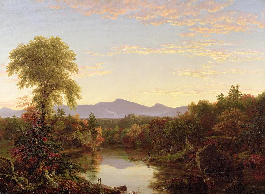 Catskill Creek - New York Painting