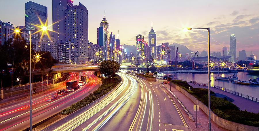 Horizontal Photograph - Causeway Bay by Andi Andreas