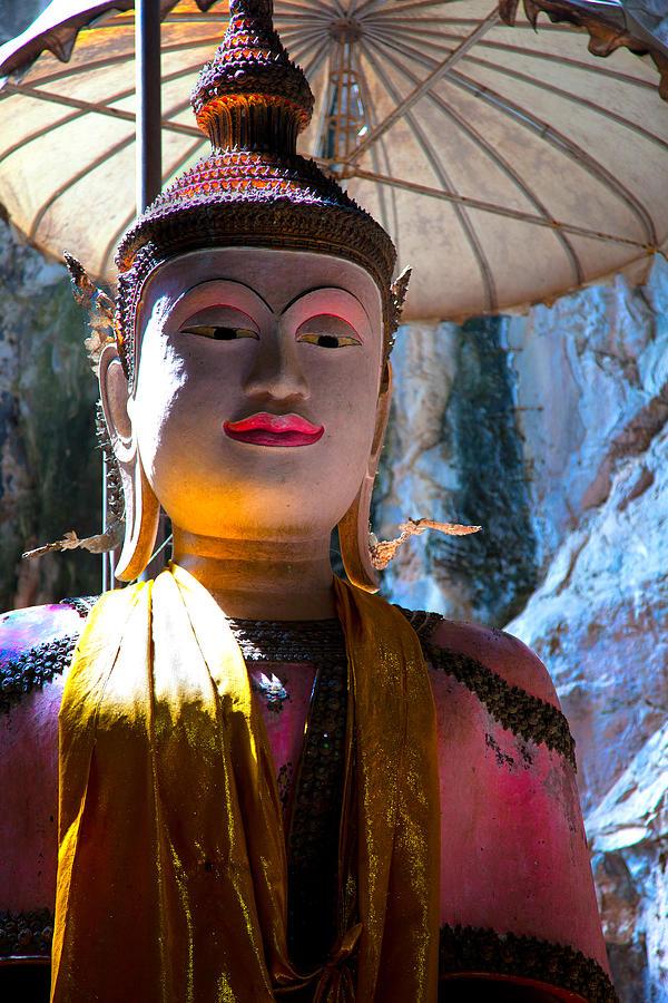 Cave Buddha Photograph