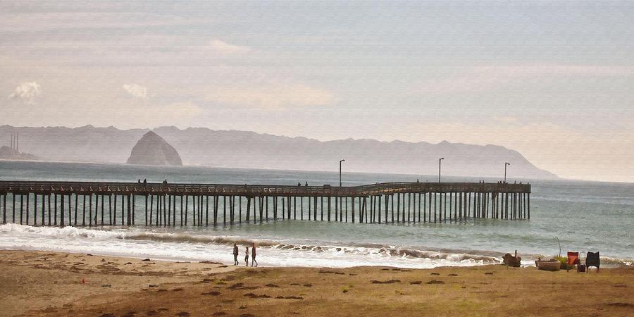 Caycous Pier II Digital Art