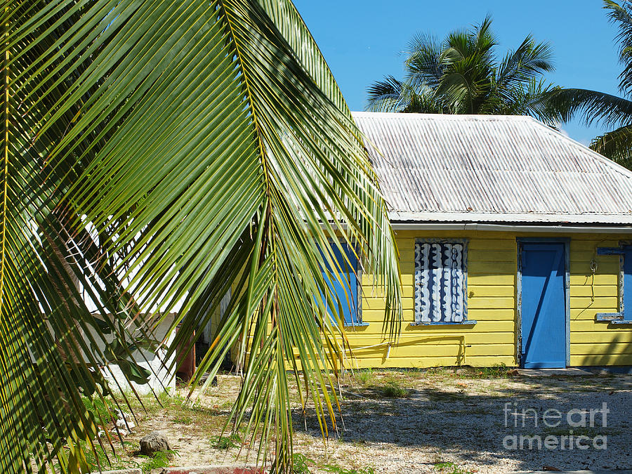 Cayman Islands Traditional Island Home Photograph  - Cayman Islands Traditional Island Home Fine Art Print