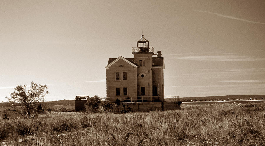 Cedar Island Lighthouse Photograph
