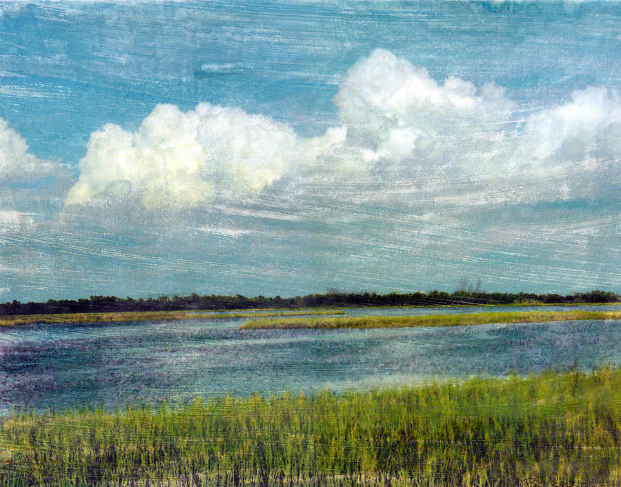 Cedar Key 1 Mixed Media  - Cedar Key 1 Fine Art Print