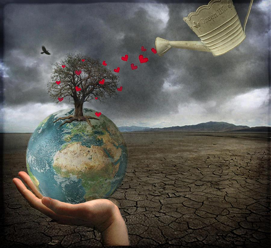 Celebrate Earth Day...everyday Digital Art