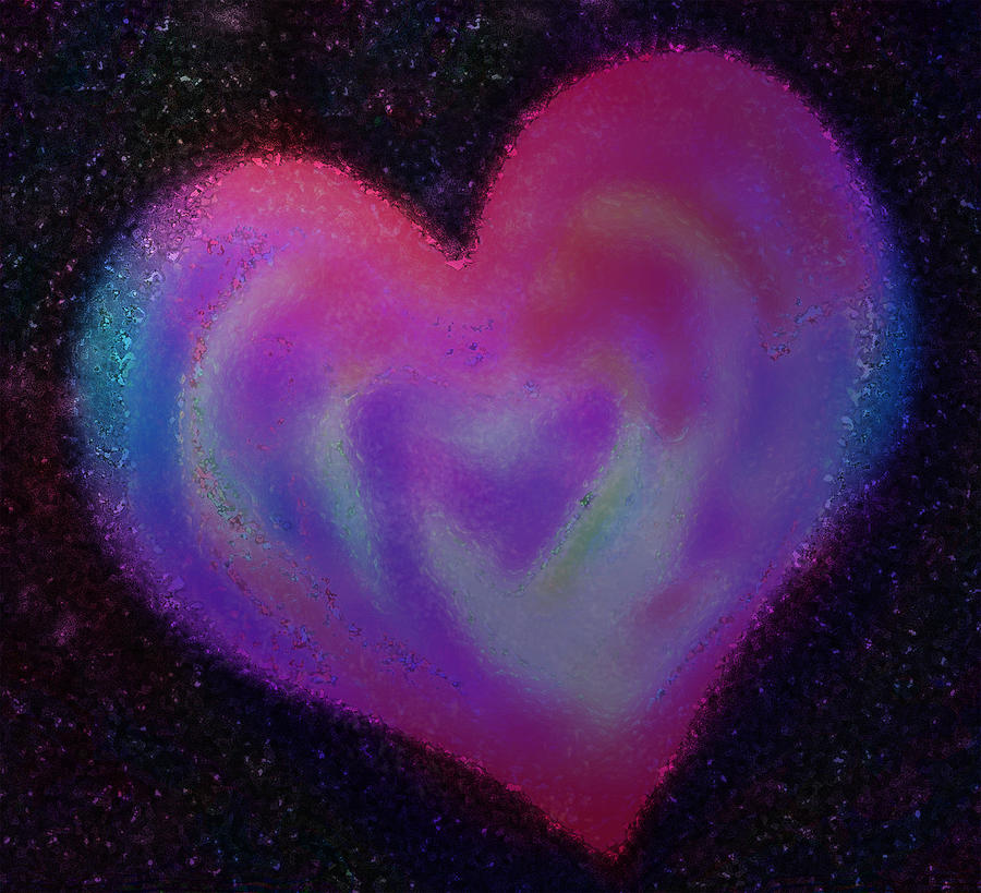Celestial Heart Digital Art