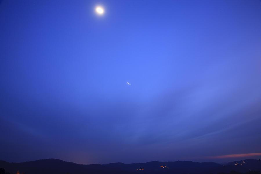 Celestial Transit Photograph